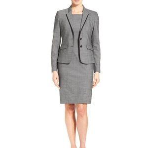 BOSS Sleeveless Grey Suit Dress